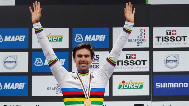 Dominant Dumoulin storms to World Time Trial title in Bergen