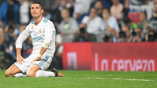 Malgré Ronaldo, le Real Madrid s'incline et cède encore du terrain