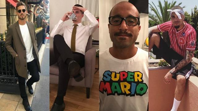 Membres de la fashion police du PSG, Trapp, Meunier et Lucas jugent leurs looks respectifs