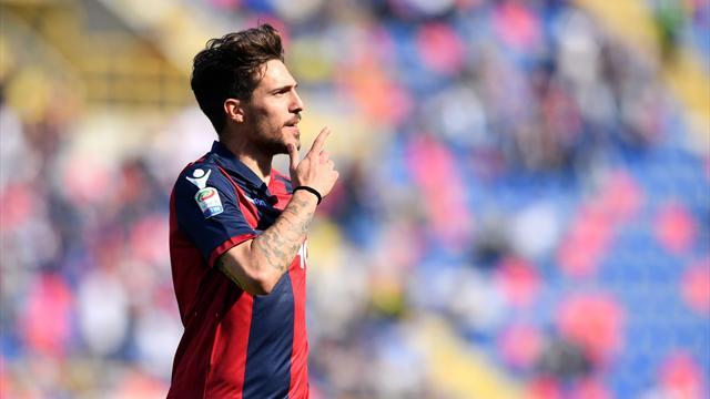 Serie A, Genoa-Bologna 0-1. Palacio fa esultare Donadoni