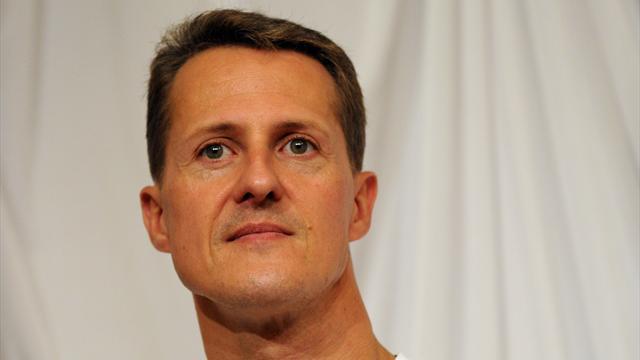 """""""Schumacher sigue con la misma cara, sólo un poco más rellena"""""""