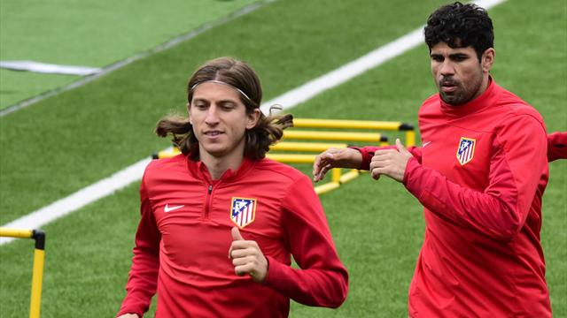 Costa is better than Neymar and Hazard, says Filipe Luis