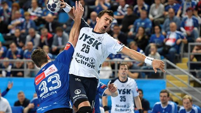 Flensburg gewinnt Spitzenspiel, Kiel verliert erneut