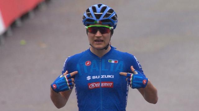Pirrone makes it a time trial-road race double in Bergen