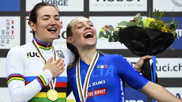 Elena Pirrone e Letizia Paternoster insieme sul podio mondiale dopo una vita da amiche ed avversarie