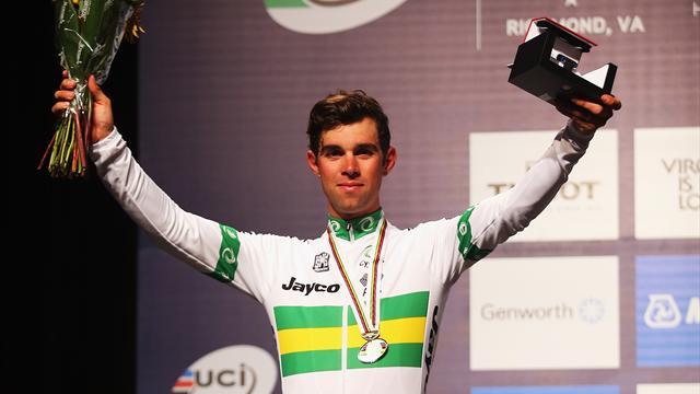Immense déception pour l'auvergnat Julian Alaphilippe — Mondiaux de cyclisme