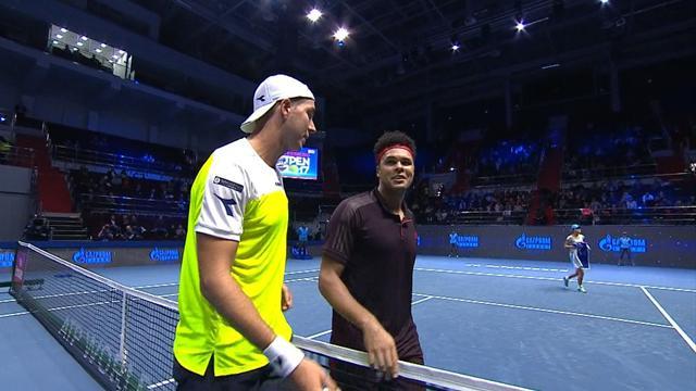 ATP Saint Petersburg: Jan-Lennard Struff - Jo-Wilfried Tsonga (Özet)