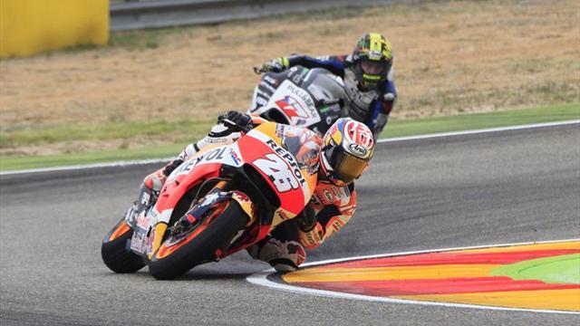 Honda puso primera en Aragón — MotoGP