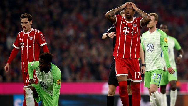 Bayern-Wolfsburgo: Patinazo por exceso de confianza (2-2)