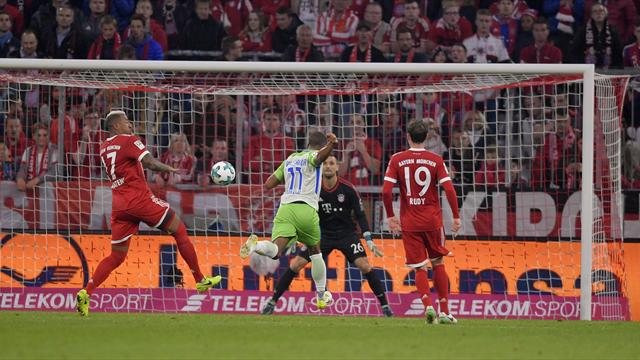 Il Wolfsburg rimonta due gol al Bayern: finisce 2-2 all'Allianz Arena