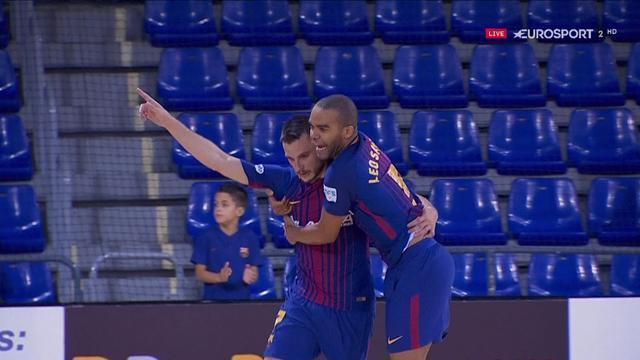 LNFS, Barcelona-Palma: Goles, sufrimiento y espectáculo (6-3)