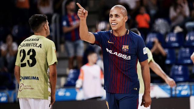 LNFS, Barcelona-Palma: Golazos contra la euforia (6-3)