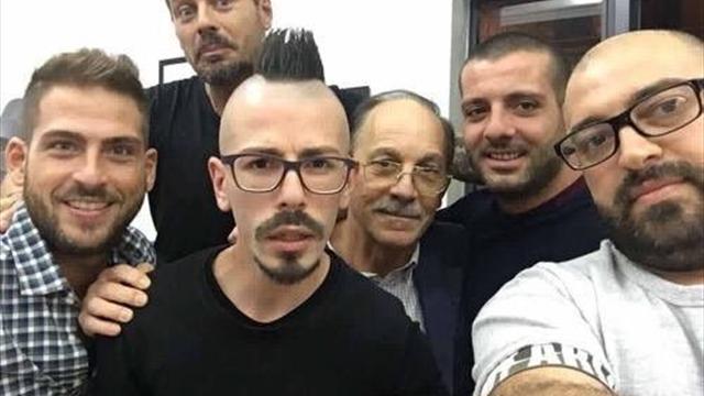 Фанаты «Наполи» обнаружили стюарда «Лацио», похожего на Гамшика, и спели ему пару песен