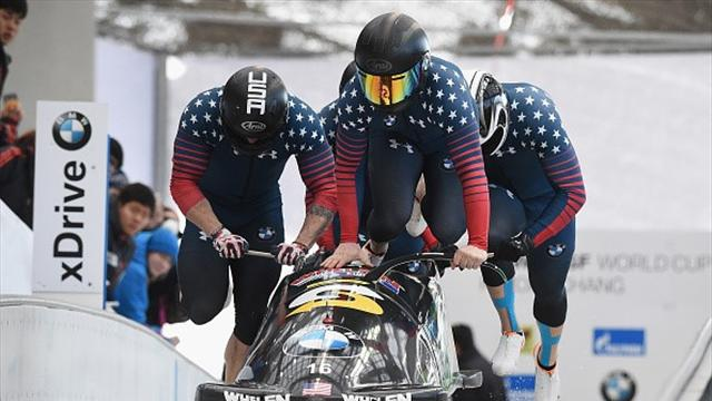 Bascue ends barren bobsleigh run with terrific Lake Placid showing
