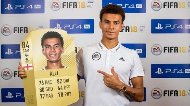 Алли: «Отказываюсь играть в FIFA 18, пока мне не повысят рейтинг»
