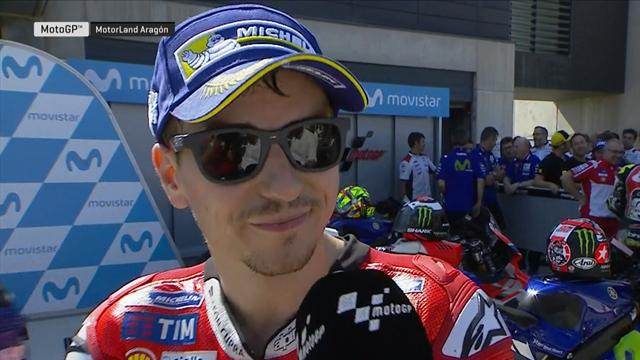 "Lorenzo : ""J'ai encore besoin de kilomètres avec cette moto"""