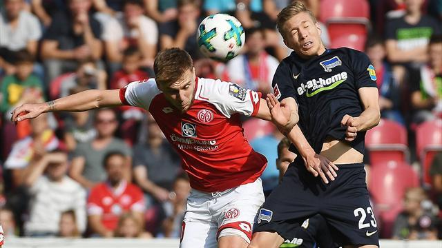 Hertha BSC - FSV Mainz 05 live im TV und im Livestream im Eurosport Player