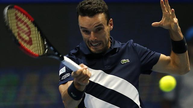 ATP Pekín, Aljaz Bedene-Roberto Bautista: A cuartos por retirada del británico (0-6 y 0-4 A)