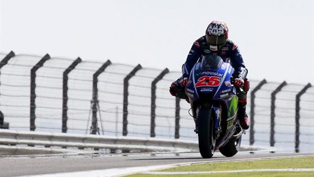 Viñales suma su quinta mejor clasificación, proeza de Rossi