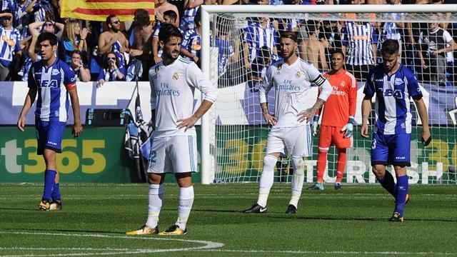Результат без рисунка игры. Видеообзор матча Алавес— Реал 1:2