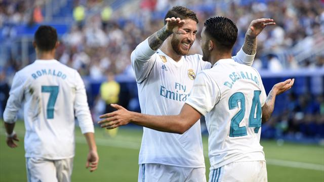 Ceballos brace leads Madrid to unconvincing win at Alaves
