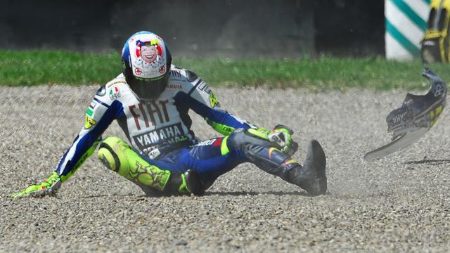 Visage brûlé, jambe, bras cassés… : Rossi et ces champions revenus au top après des blessures