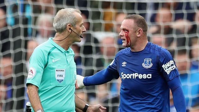Wayne Rooney plays full part in Everton training ahead of Europa League clash