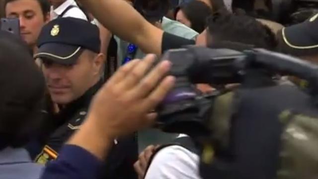 De retour à l'Atlético, Diego Costa a été accueilli comme une rock star à l'aéroport