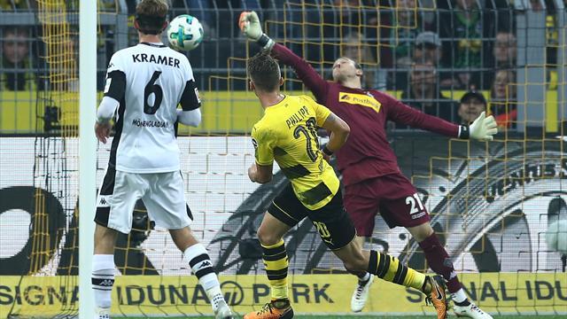 El Borussia Dortmund destroza al Gladbach, se pone líder y asusta al Madrid (6-1)