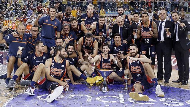 Supercopa ACB (final), Gran Canaria-Valencia Basket: Otro título para el campeón (63-69)