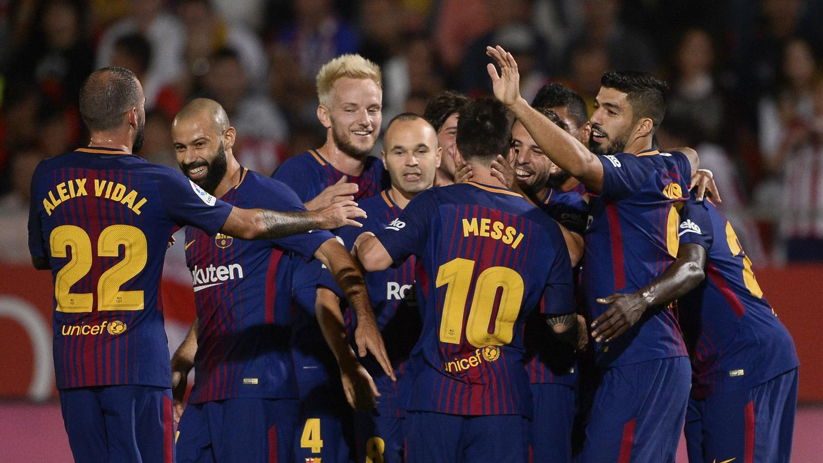 barcelona fußball spiel
