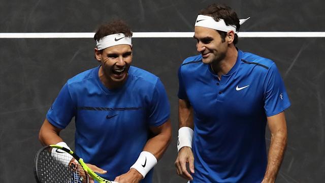 Plaisir en vue : Federer et Nadal vont de nouveau unir leurs forces en Laver Cup