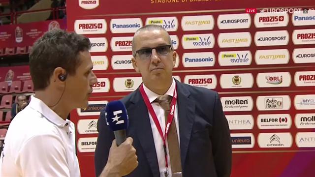 """De Raffaele: """"Buona base difensiva, contenti per aver raggiunto la finale"""""""