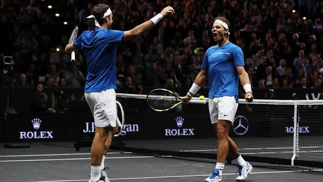 Federer - Nadal, duo gagnant