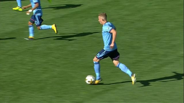 MLS, New York City FC-Houston Dynamo 1-1: gli highlights