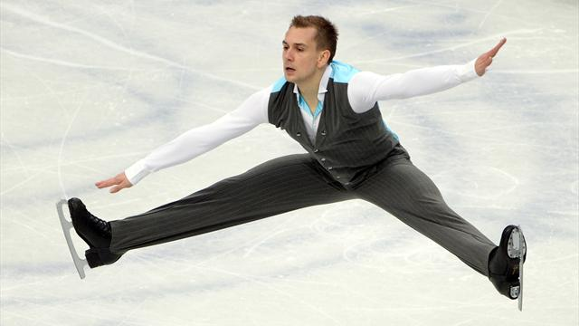 Eiskunstlauf: Liebers verpasst Olympia-Quali in Kanada