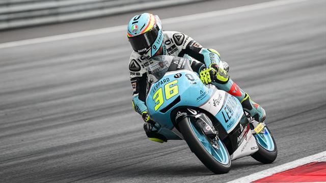 Moto3 : Jorge Martin (Honda Gresini) en pole position