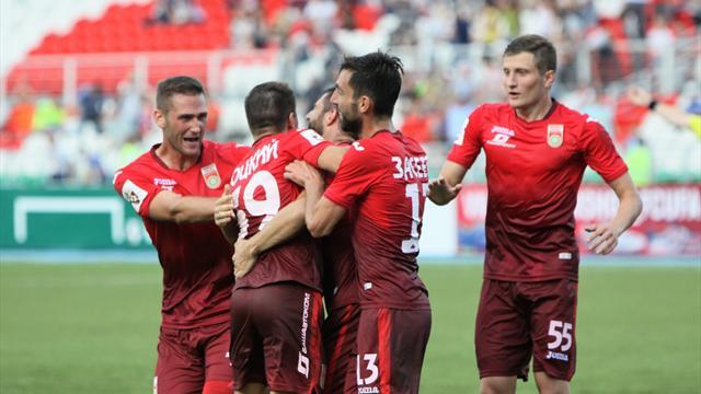 «Уфа» одолела «Арсенал»