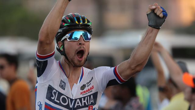 Peter Sagan consigue su tercer mundial consecutivo