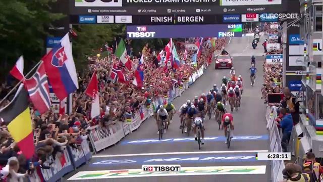 Sagan nella leggenda! Campione del mondo per la terza volta di fila
