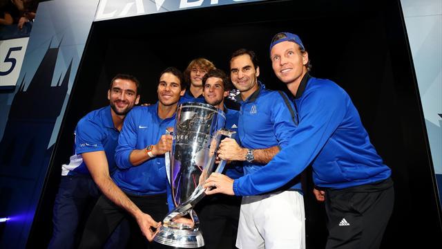 Federer offre à l'Europe la première Laver Cup