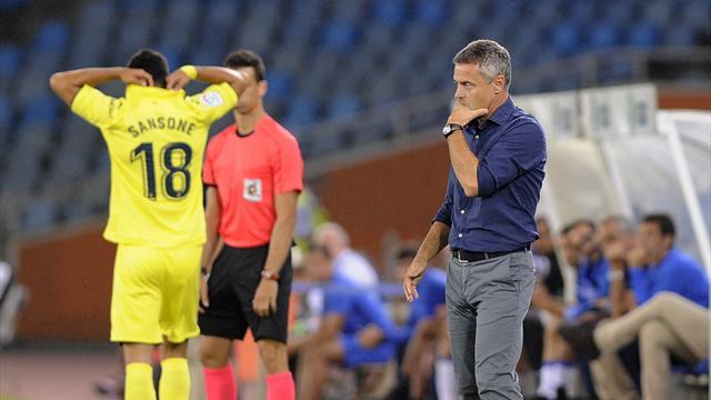 Villarreal sack coach Escriba, replace him with Calleja