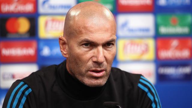 Zidane : «Certains peuvent s'inquiéter… mais moi non, jamais»