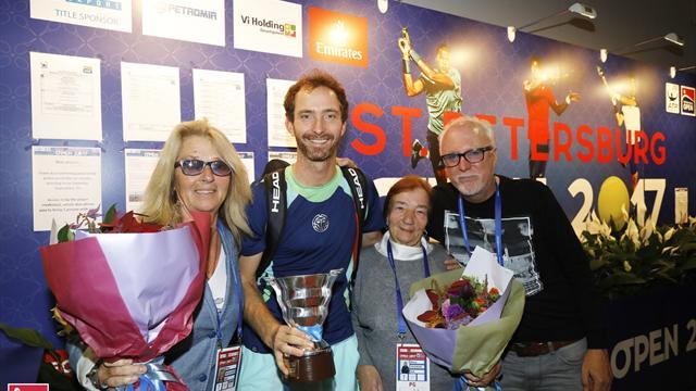 89-летняя бабушка увидела победу внука-голландца с трибуны. Главные сюжеты St. Petersburg Open-2017