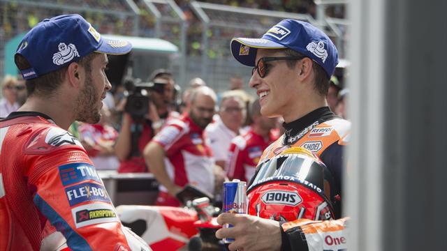 Motegi e Australia, le 2 piste in cui Dovizioso può provare la rimonta per il titolo su Marquez