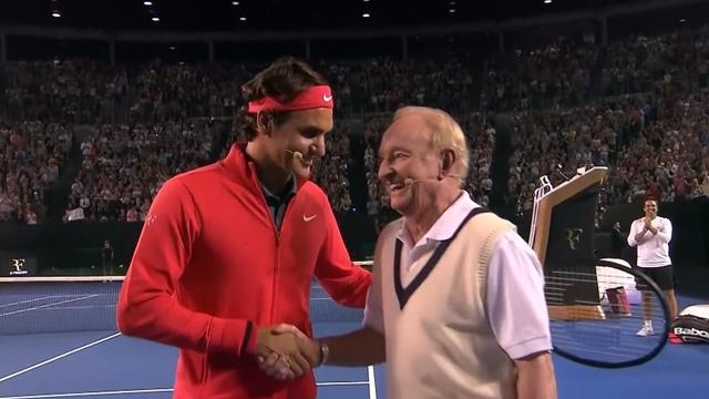 Federer: Laver is the GOAT