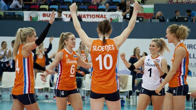 Volley femminile, Europei 2017: l'Olanda è l'avversaria dell'Italia ai quarti di finale