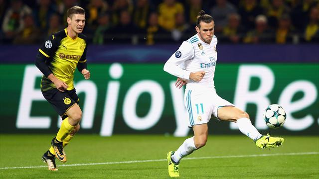 Bale sufrió un calambre en la pierna derecha; el Madrid quita importancia a su dolencia