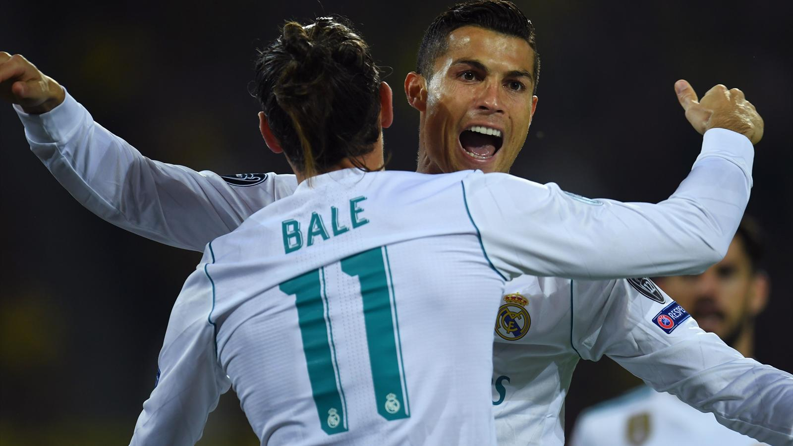 Gareth Bale and Cristiano Ronaldo rampant as Real Madrid ease past Dortmund - Champions League ...
