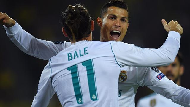 Cristiano celebra con un doblete sus 400 partidos en el Real Madrid